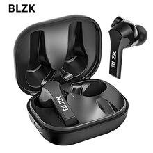 BLZK TWSหูฟังบลูทูธ2200MAhกล่องชาร์จหูฟังไร้สาย9D Super Bassกีฬาหูฟังกันน้ำชุดหูฟังทนทาน
