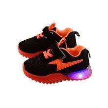 LED Sandals Sandalias Boys Sneakers Girls Kids Lights Sneakers 2020 Bab