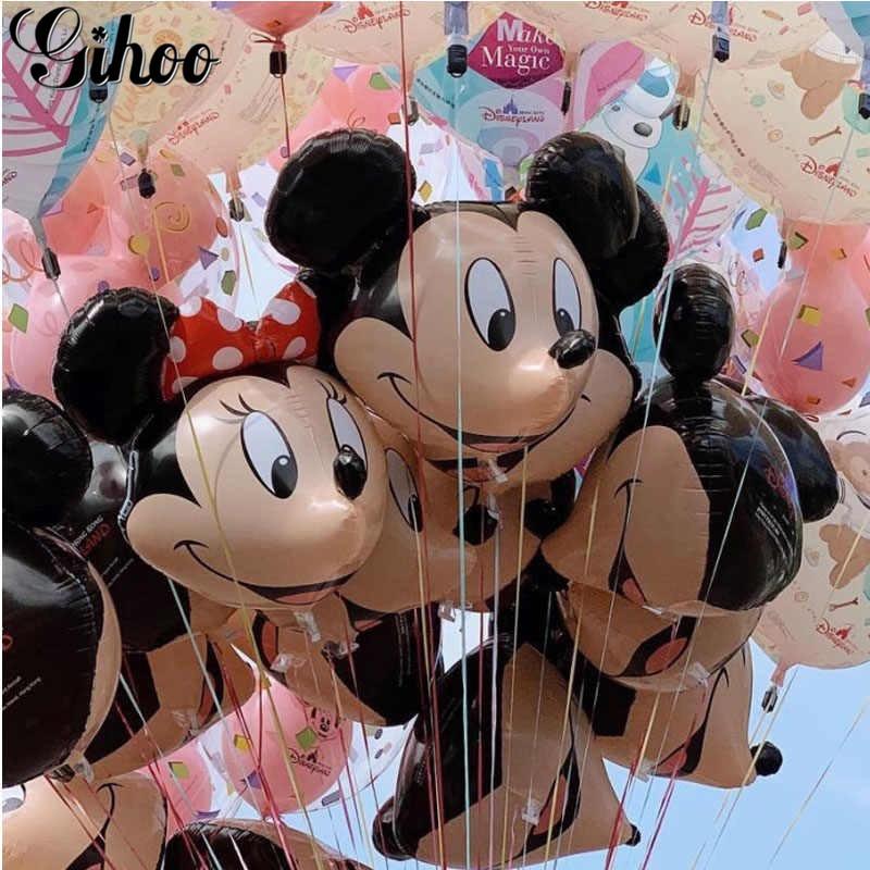 85cm Disney Mickey Minnie Mouse Helium Foil Balloons Kids Birthday Balloon