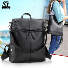 Fashion Women Backpack High Quality Youth Leather Backpacks for Teenage Girls Female School Shoulder Bag Mochila women backpacks leather female backpack fashion high quality college students school bags schoolbags backpacks for teenage girls