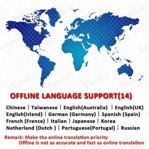 Image 4 - TOMKAS 137 traducteurs de langue traducteur intelligent écran tactile hors ligne en temps réel traducteur vocal de traduction Photo Portable