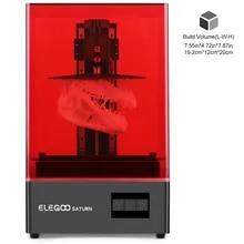 3d-Printer Elegoo Saturn Monochrome MSLA Photocuring Resin LCD UV 4K 192--120--200mm
