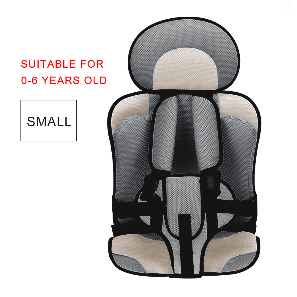 2019 Comfortable Breathable Thickening Adjustable Children baby care Car Seat
