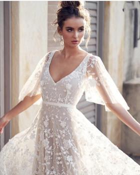 Robe de Mariage Bohème Chic Iris