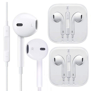 In Ear Earphone with Microphone Wired Bluetooth Headphones For iPhone 11 12 Pro MAX XS XR X 8 7 Plus SE 2020 Sports Ear Phones