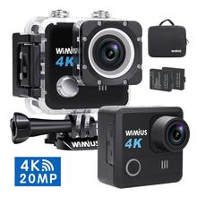 цена на WIMIUS L1 L2 L3 4K 30fps Ultra HD Action Camera WiFi 170D Sport Action Cam 30M Waterproof Helmet Video Recording Cameras