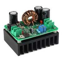 Convertidor de impulso CC/CC 10-60V a 12-80V regulador de voltaje de aumento 600W fuente de alimentación automática transformador de salida ajustable Voltios Con