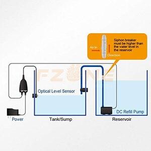 Image 4 - 수족관 광학 자동 필러 AutoAqua 스마트 마이크로 자동 듀얼 센서 자동 워터 펌프가있는 ATO 시스템 끄기