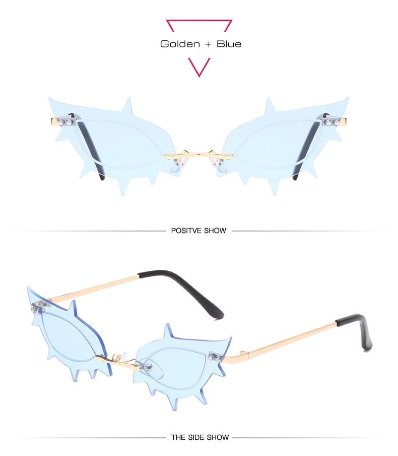 Hae9bb85d446e4ae8bef8e6f3846b40c6N Óculos vintage único sem aro starfish forma feminino óculos de sol claro oceano lente óculos de sol moda senhoras tendências tons