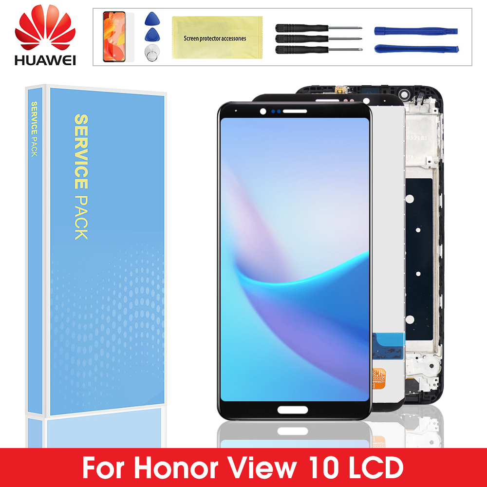 LCD For Huawei Honor V10 LCD Display Touch Screen Digitizer Assembly Replacement For Honor View 10 BKL-AL00 BKL-AL20 / BKL-L09