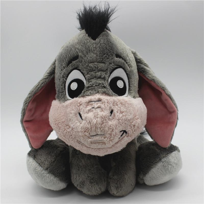 1piece 28cm Cartoon Gray Eeyore Donkey Stuff Animal Soft Plush Toy Doll Birthday Children & Gril Friend Gifts Eeyore Stuffed Toy