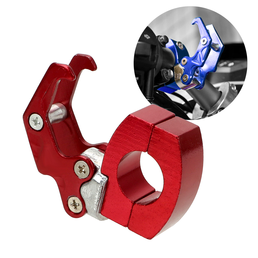 LEEPEE Carry Luggage Bag Hanger Helmet Claw Hook Easy Motor Cycle Accessories Hook Install Storage Bag Holder Aluminum Alloy