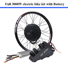 70-80km/h 135mm dropouts 60v 3000w electrical bike coversion equipment 60V 24.5ah 3000W ebike lithium battery pack included