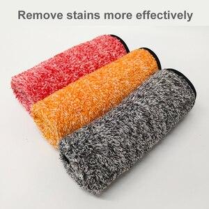 Image 4 - Auto Detaillering 35x35cm Auto Wassen Doek Microfiber Handdoek Car Cleaning Rag Voor Cars Dikke Microfiber Voor car Care Keuken
