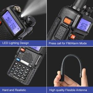 Image 5 - 2021 Baofeng UV 5R III tri band podwójna antena walkie talkie VHF 136 174Mhz/220 260Mhz i UHF 400 520Mhz Ham Radio skaner UV5R UV 5R