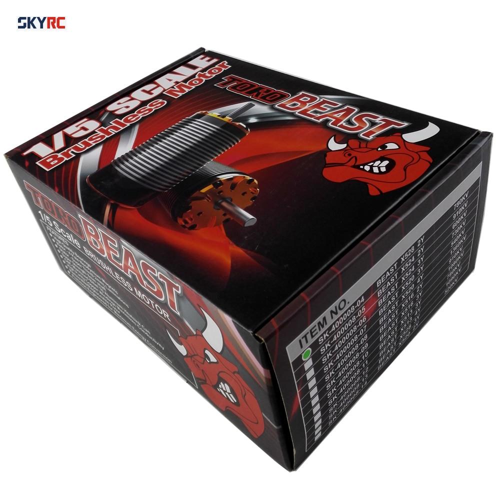 SKYRC TORO Beast X528 2Y 780kv Brushless Motor 1/5 1:5 Scale RC Car Parts