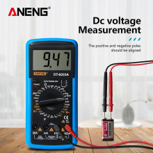 LCD Display Digital Multimeter Alternating/Direct Voltage Current Resistance Capacitance Diode Triode Tester