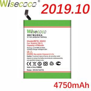 WISECOCO 4750mAh BM22 батарея для мобильного телефона Xiaomi Mi5 Mi 5 в наличии последняя продукция высокое качество батарея + номер отслеживания