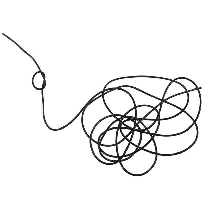 RG174 kabel koncentryczny anteny router wi-fi przewód przyłączeniowy 3 metr czarny