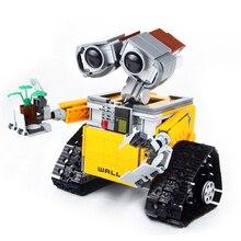 Technic Series WALL-E Creator Robot RC Playmobil Model kids toys Building Blocks Sets Bricks Educational Toys for Children gift lepin technic series 20014 1386pcs 4x4 crawler vehicles model building kits blocks bricks toys gift for children 9398