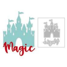 2020 Горячая новинка английская надпись волшебный баннер замок