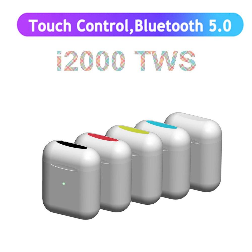 F13 speaker i2000 TWS Wireless Bluetooth 5.0 Earphone Sports Sweatproof Headphone Touch Earbuds PK WI H1 i10 i80 i60 i100 i1000
