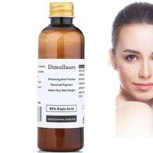 Dimollaure 100g pure 99% Kojic Acid scar removal Freckle melasma Acne scar pigme