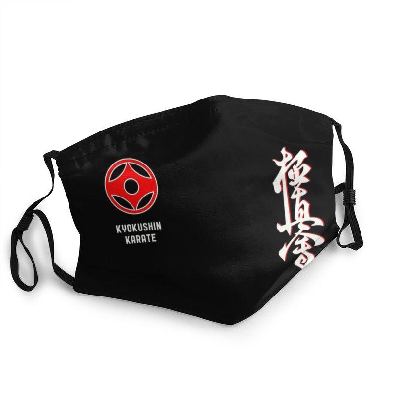 Многоразовая маска для каратэ Kyokushin, маска для боевых искусств, защита от пыли, маска-респиратор