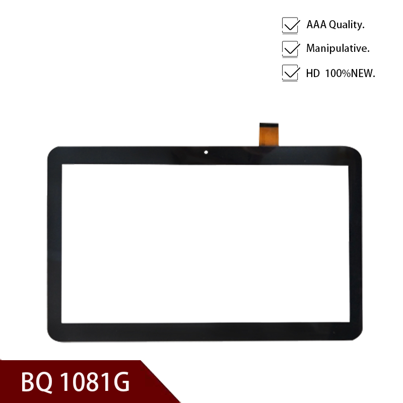 New A+ White Or Black10.1'' Inch Tablet Digitizer Glass For BQ BQ-1081G Grace 3G Touch Screen Panel