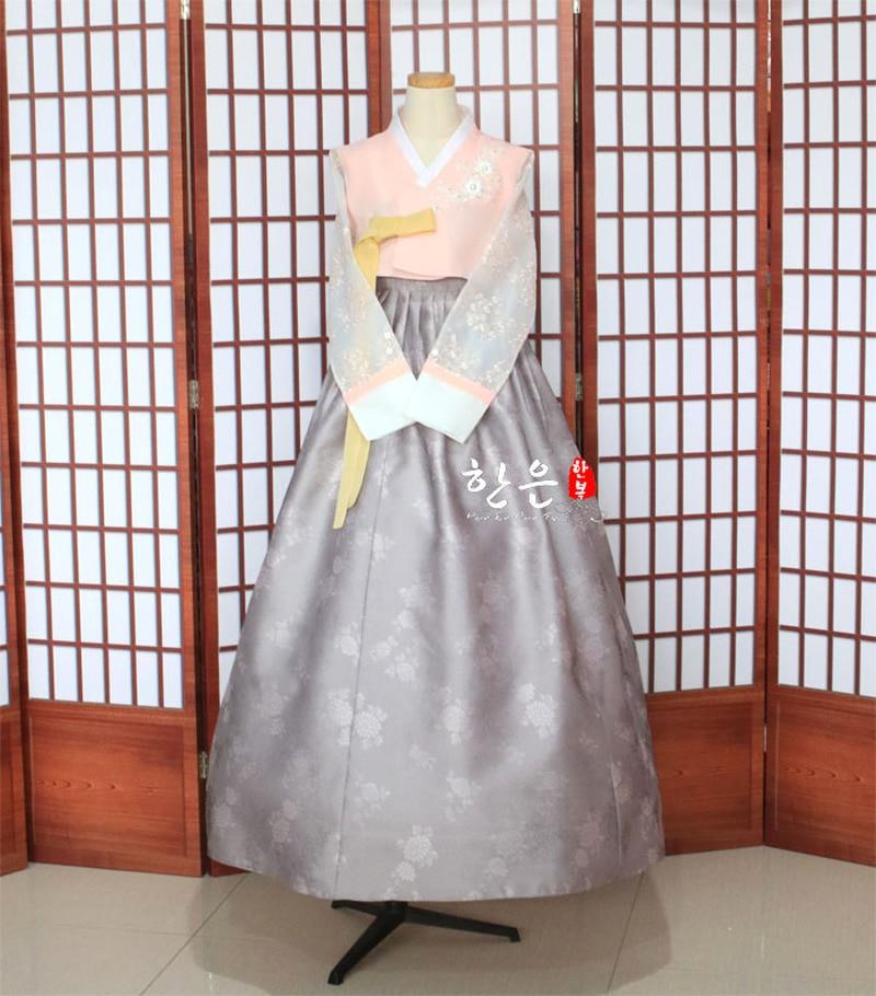 Korea Imported Fabric / New Improved Hanbok / Groom Bride Mother Hanbok