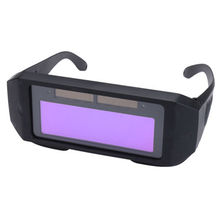 Din11 Авто затемняющий сварочный шлем с солнечной батареей светильник