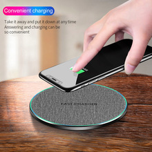 B270 Qi fast wireless charger charging pad 7.5W/10W /15W wireless charger with light For for iPhone XS Max X 8 For Huawei P30