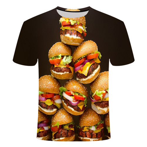 Летняя футболка с 3D принтом в виде пива, покера, для мужчин и женщин, забавная Новинка, футболка с круглым вырезом и коротким рукавом, топы, модные уличные мужские футболки - Цвет: TX025