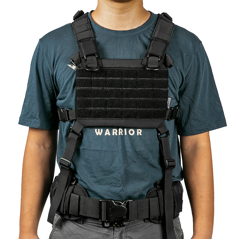 OneTigris Outdoor CS Vest ROC MOLLE Chest Panel Harness Military Equipment Tactical Modular Chest Kit Platform