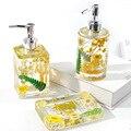 Parfüm Flasche Sanitizer Silikon Form DIY Epoxy Harz Kleber Lagerung Mold Set Haushalts Seife Box Harz Dekoration Lagerung Tank