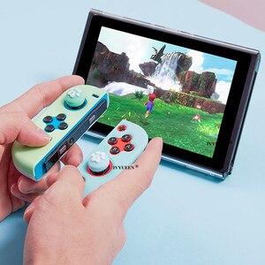 Image 5 - IVYUEEN poignées de pouce analogiques pour commutateur Nitendo Lite NS JoyCon contrôleur capuchon de bâton pour commutateur de commande Mini Joy Con Joystick couverture