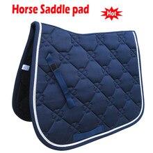 Almofada de sela de cavalo almofada de adestramento macio sem camisinha equipamento de sela de equitação paarden sela cavalo equestre caballos acessórios