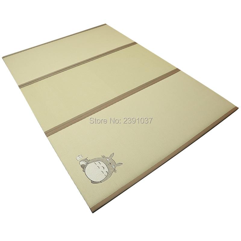 My Neighbor Totoro Floor Cushion Tatami Cushion Coconut Palm Core Tatami Japones Rattan Mattress Topper For Bedroom