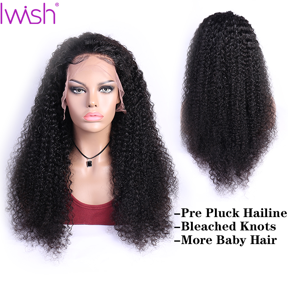 Curly Human Hair Wig Remy Brazilian Wig Natural Hair Lace Front Human Hair Wigs PrePlucked And Bleached Knots Lace Wig For Women-in Human Hair Lace Wigs from Hair Extensions & Wigs    1