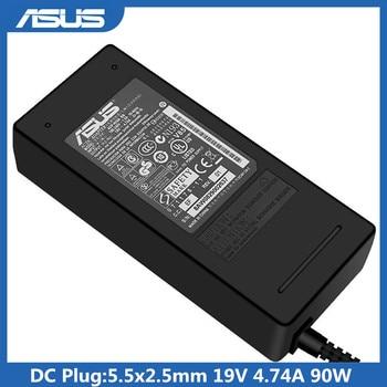 19V 4,74 90W 5,5x2,5mm adaptador de CA ADP-90SB BB PA-1900-24 PA-1900-04 para Asus F81SE f9 X80N F8Tr X81SE F3 portátil