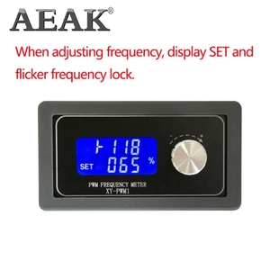 Image 5 - Moduł generatora sygnału AEAK regulowany PWM częstotliwość impulsów cykl pracy fala kwadratowa 1HZ   150KHZ regulowany