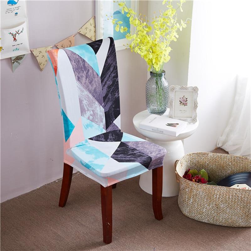 Купить 2/4/6 шт эластичные чехлы на кресла для обеденная современный