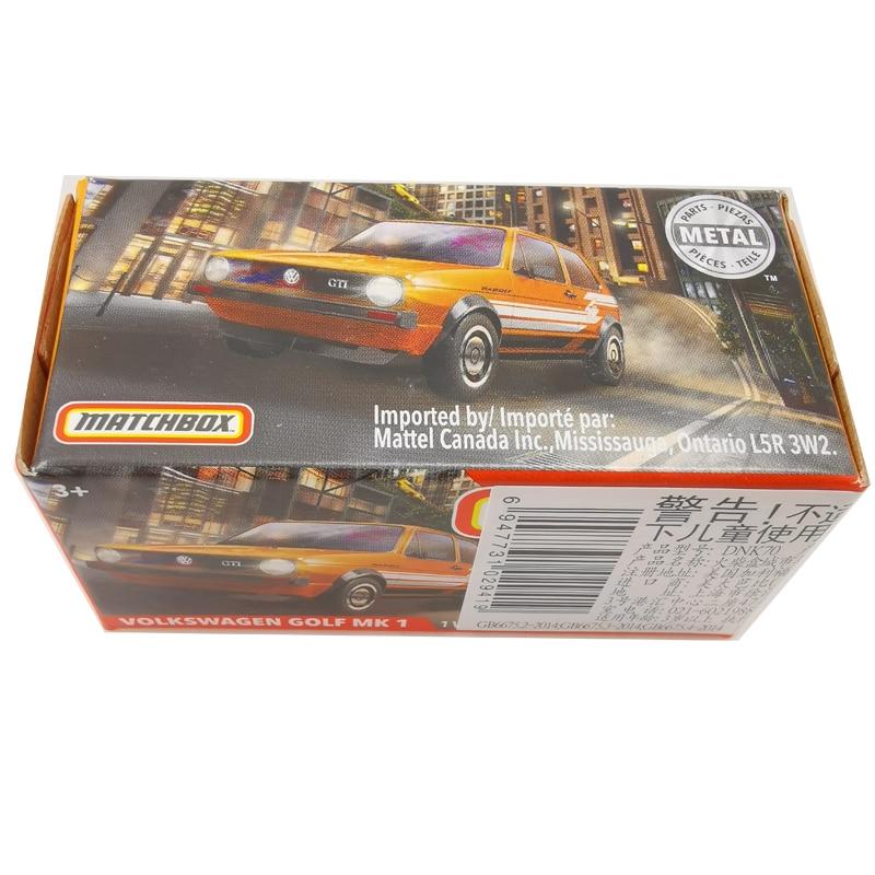 2020 Matchbox Cars 1:64 Car VOLKSWAGEN GOLF MK 1 Metal Diecast Alloy Model Car Toy Vehicles
