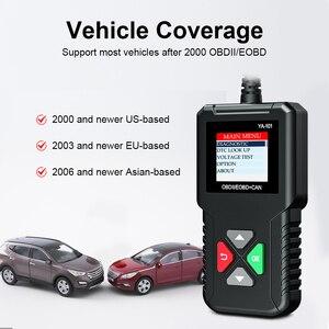 Image 4 - YA101 מלא OBD2 סורק OBDII קוד Reader רכב אבחון כלי OBD2 12V רכב סורק מנוע מנתח OBD2 אוטומטי סריקה כלי