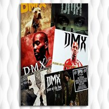 Rapper Earl Simmons DMX Poster Home Decor Canvas Wall Art Print Posters Paintings Pictures for Bedroom Living Room