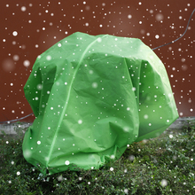 Plant Cover Frost Fruit Protection Greenhouse Bag Warm Worth Blanket Garden Shrub Jacket With Drawstring Zipper Tool
