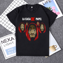 Hillbilly Money Heist Tshirt The House of Paper La Casa De Papel Camiseta T Shirt Women Summer Dali Mask T-shirt