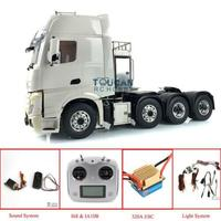LESU Metal Chassis 1/14 RC Tractor Truck 8*8 Hercules Merce Cabin Sound Motor THZH0519