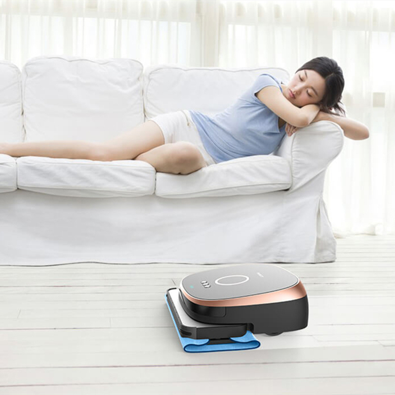 Image 3 - Xiaomi Bobot MIN580 Min590 intelligent mopping robot Imitation of human kneeling on the floor mopping smart mop-in Vacuum Cleaners from Home Appliances