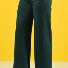 Minahill Two Thread wide Leg Pants 8108-13 Emerald Green 8108-13